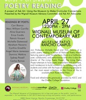"This Monday! A Performance of ""Course Contents"" at Chaffey College"