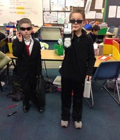 Aaron & Adam were spies from Spy School