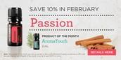 Passion 10% Off