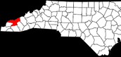 swain county is located in the Mountain range