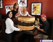 The biggest hamburger there is.