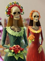CELEBRATING DIA DE MUERTOS