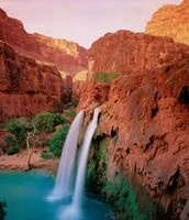 Another waterfall in the grand canyon.