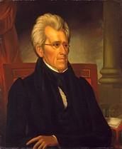 i think Andrew Jackson is a hero