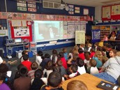 1st Graders Skype with UNT!