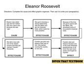 Eleanor Roosevelt Cause and Effect