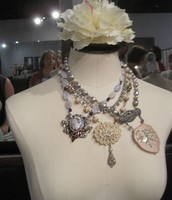 Vintage handmade creations by our own Janine Swinford
