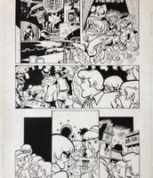 Originales Interiores Scooby Doo, ideales para coleccionistas o amantes de este arte.