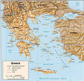 Ancient Greece Pysical Features