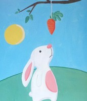 "Art Buzz Kiddo ""Easter Bunny"""