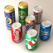 Soda  (or pop)