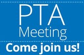 Last PTA meeting is coming up