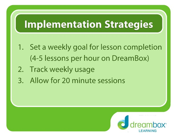 DreamBox Learning | Smore Newsletters