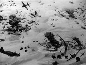 Picture during Battle of Midway