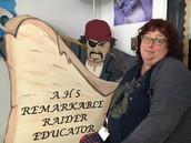 Congrats to Kathy Hubbard - AHS Remarkable Raider!