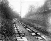 When was the first railroad invented?