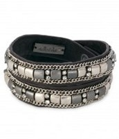 Candy Wrap Bracelet - silver (current)
