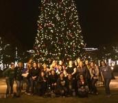 Rann staff enjoy a night in Southlake Towne Square!