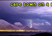 weather of Cape Town Africa