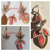 Hibiscus Earrings - $18, Reg - $49