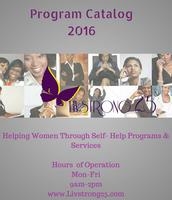 LivStrong25 Program Catalog 2016