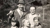 Himmler with his family