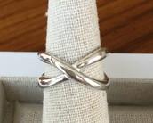 Odette Ring, size 6 -- $15