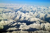 The Hindu Kush Mountains