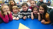 "1st Graders ""Buddy-Up"" with Numbers"