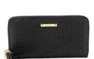 Mercer Zip Wallet-Black