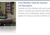 Candid Careers - Danielle, TFA Corps Member