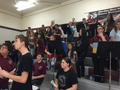 The Warrior Pep Band