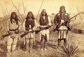 Native were given weapons to Fight  in the War