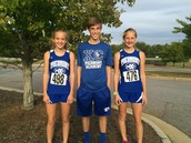 Cross Country Medalists