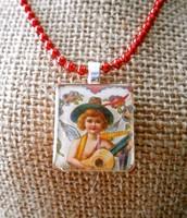 Angel of Music Vintage Valentine