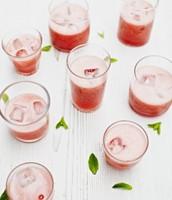 Slushy au fraise