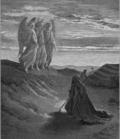 הביקור של המלאכים לפני הפיכת סדום