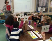 3rd graders at JNES Try Plickers!