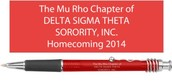 Homecoming 2014 Keepsake Pen