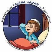Say Krias Shma nightly!