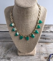 SOLD Eye Candy Necklace--Green