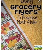 Grocery Flyers to Practice Math