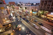 Los Angeles street.
