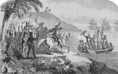 Hernan Cortes voyage