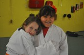 Making great friends is easy at Warrior Martial Arts!