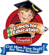 Campbell's Soup Labels for Education