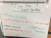 Igor the Giant Spider