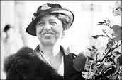 A picture of Eleanor Roosevelt