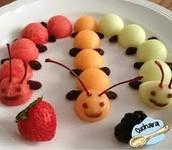 Cuquets de fruita
