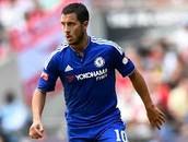 Eden Hazard: 1/3.8 (goal scored / game(s) played)